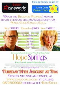 Hope Springs PREMIER at Cineworld Boldon